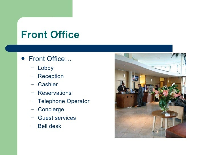 Office Foyer Meaning : Introduction to hotel front office