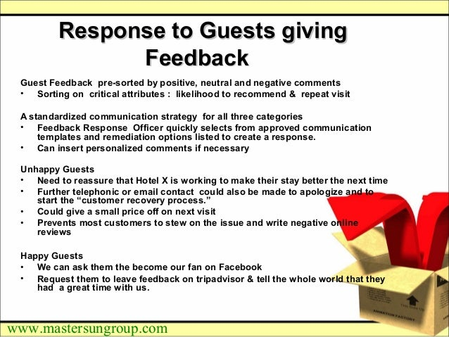how to respond to positive hotel reviews