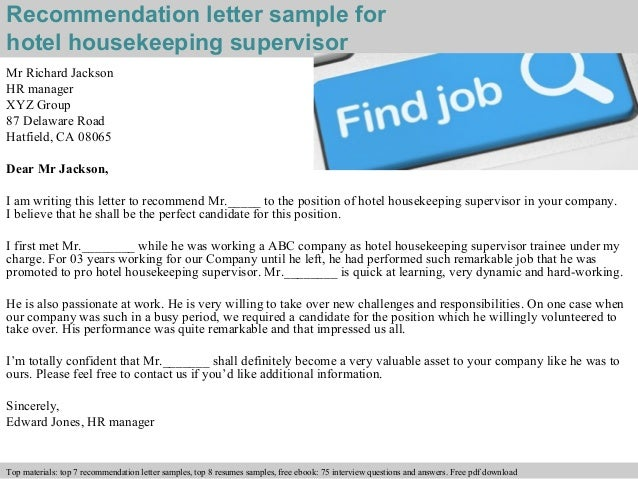 writing recommendation letter