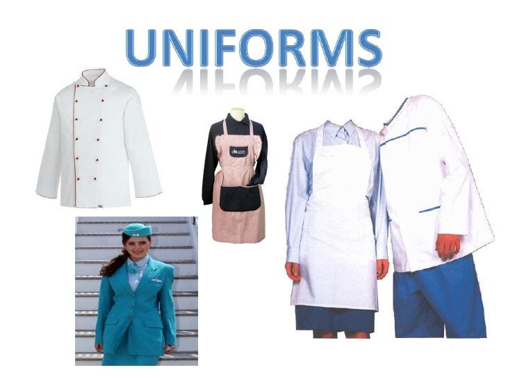 uniforms<br />