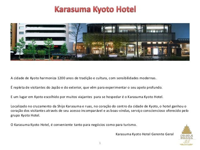 A cidade de Kyoto harmoniza 1200 anos de tradição e cultura, com sensibilidades modernas. É repleta de visitantes do Japão...