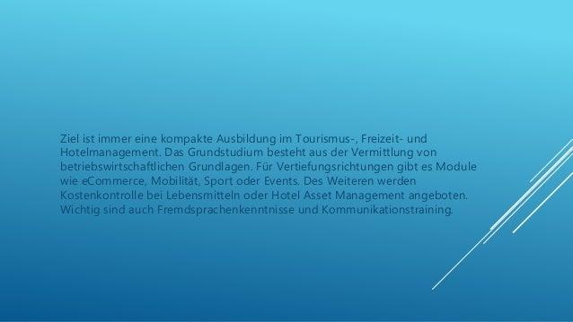Hotel management in der schweiz studieren