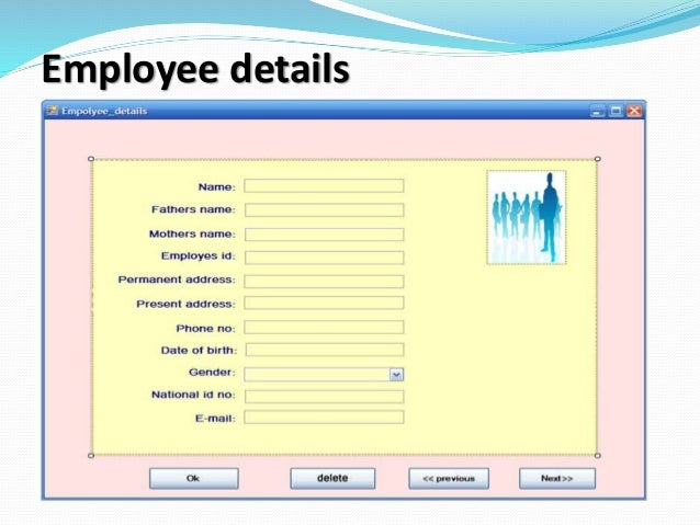 Hotel management system presentation