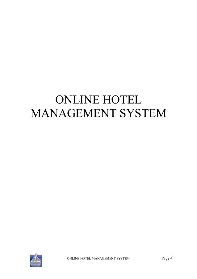 module of online hotel management system Property management systems also known as pms or hotel operating system ( hotel os),  the system automates hotel operations like guest bookings, guest  details, online reservations, posting of charges, point of sale, telephone, accounts .