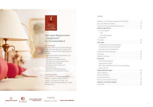 32Die HighlightsSpa-Suite (100 m) mit Serailbad, Ruhege-mach, Romantik-Whirlpool, Doppel-Mas-sagebank, Sauna für den Well...