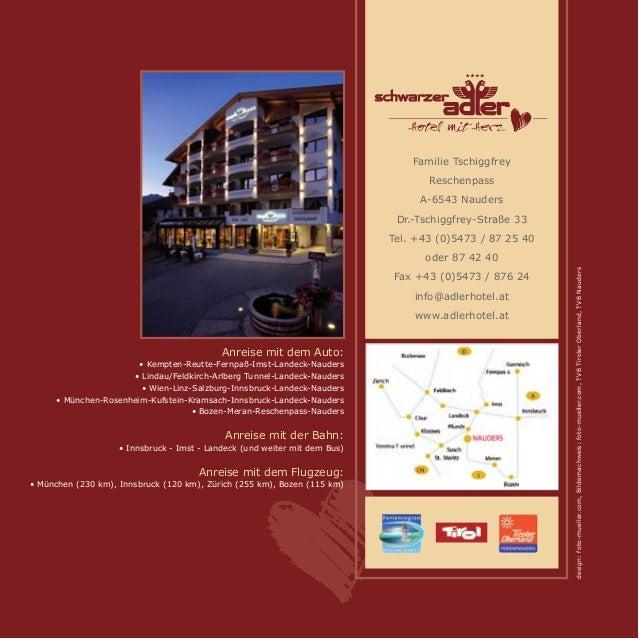 Hotel Schwarzer Adler Nauders Prospekt 2015