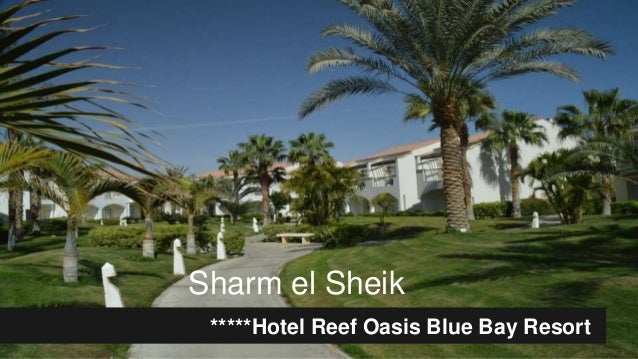 Sharm el Sheik *****Hotel Reef Oasis Blue Bay Resort