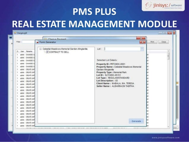 real estate management system Abstract: this paper adopts method of theory and practice to study the digital real  estate management system items based on theoretical research and practical.