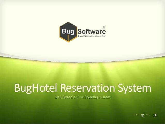 1 of 13 BugHotel Reservation System web based online booking system