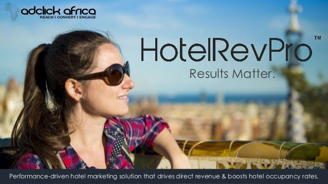 Results Matter. Performance-driven hotel marketing solution that drives direct revenue & boosts hotel occupancy rates.