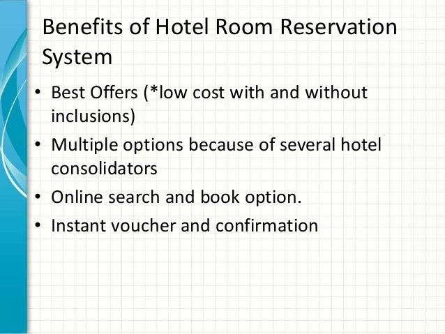 Hotel room reservation system hotel room reservation for The hotel reservation