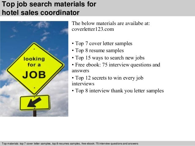 hotel sales cover letters