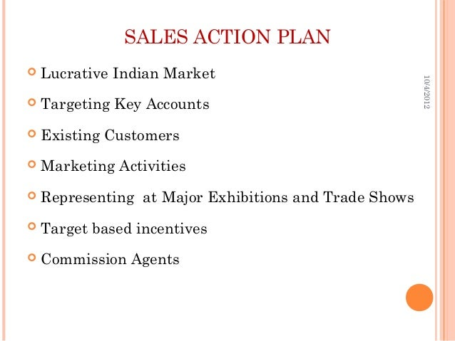 sales manager action plan template - hotel sales strategy