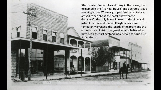 """Abe installed Fredericka and Harry in the house, then he named it the """"Pioneer House"""" and operated it as a rooming house. ..."""