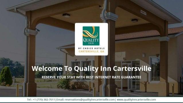 pet friendly hotel near cartersville ga quality inn. Black Bedroom Furniture Sets. Home Design Ideas