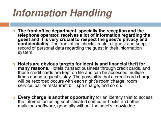 Secured Cards >> Hotel security 2