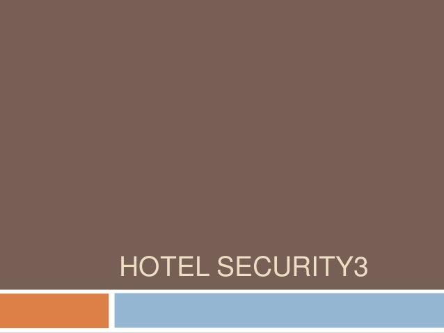 HOTEL SECURITY3
