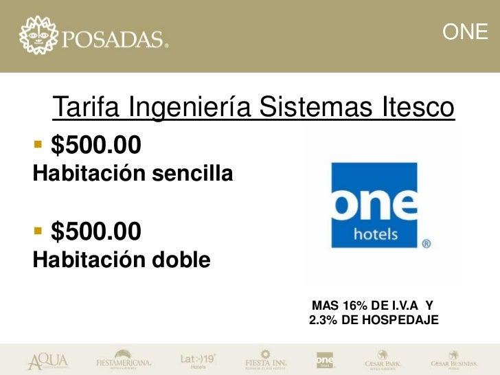Hotel sede  one coatzacoalcos Slide 3
