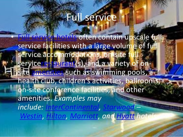 4 Full Service O Hotels