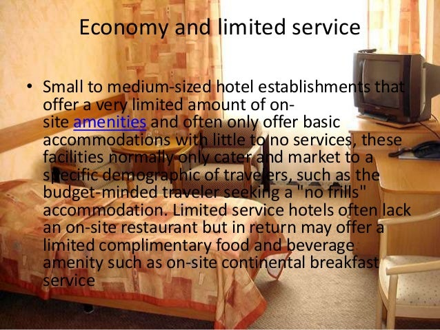 And Hyatt Hotels 5 Economy Limited Service