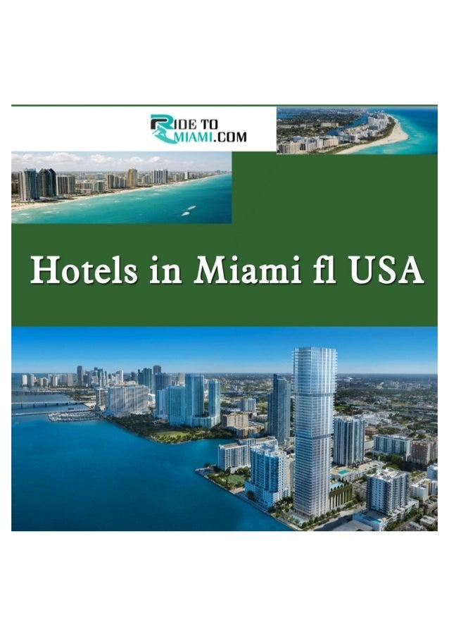 Hotels in miami fl usa