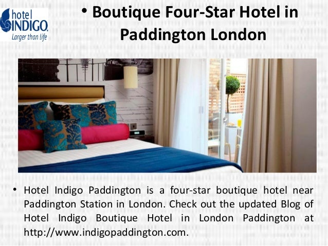 Boutique four star hotel in paddington london for 4 star boutique hotel