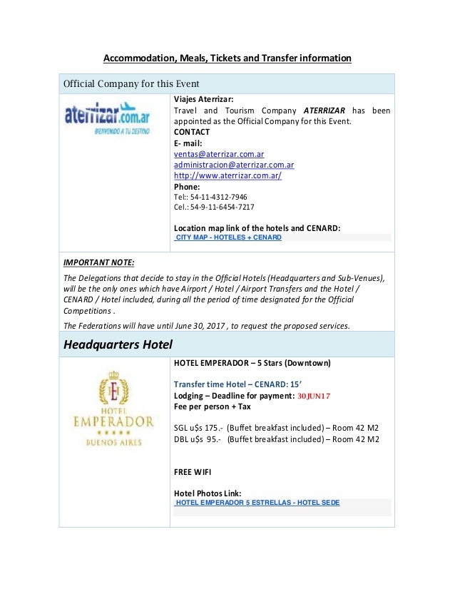 CITY MAP - HOTELES + CENARD HOTEL EMPERADOR 5 ESTRELLAS - HOTEL SEDE
