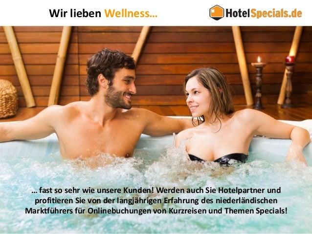 HotelSpecials - Unternehmenspräsentation für Wellnesshotels Slide 3