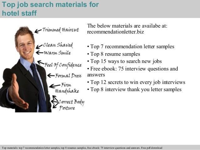 Hotel staff recommendation letter free pdf download 4 spiritdancerdesigns Images