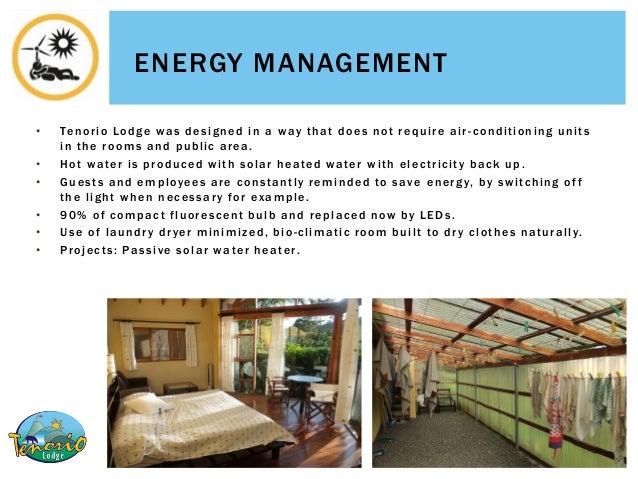 Hotel Sustainable Practices Of Tenorio Lodge Costa Rica