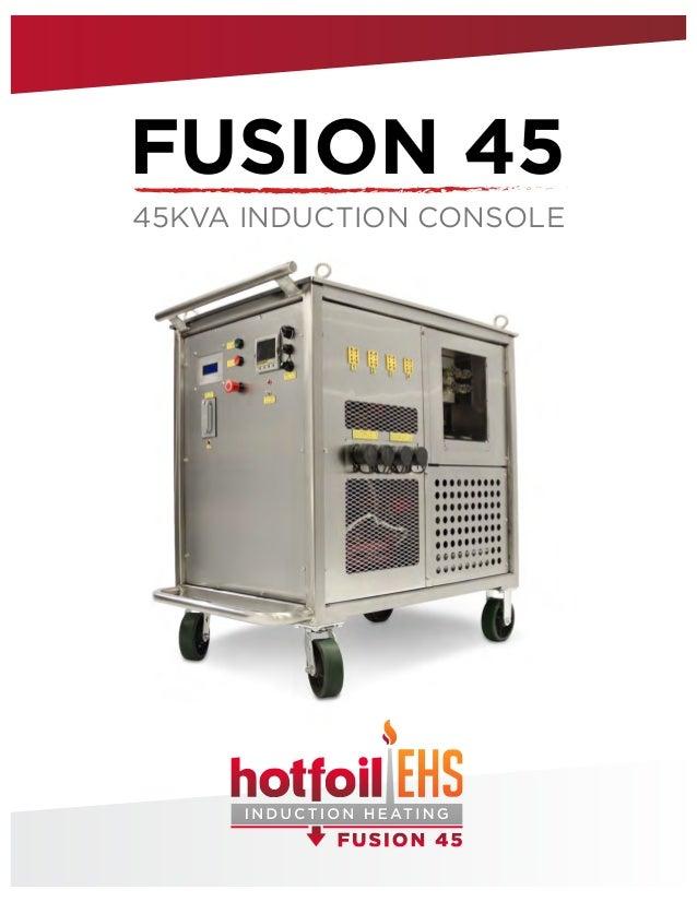 FUSION 45 45KVA INDUCTION CONSOLE