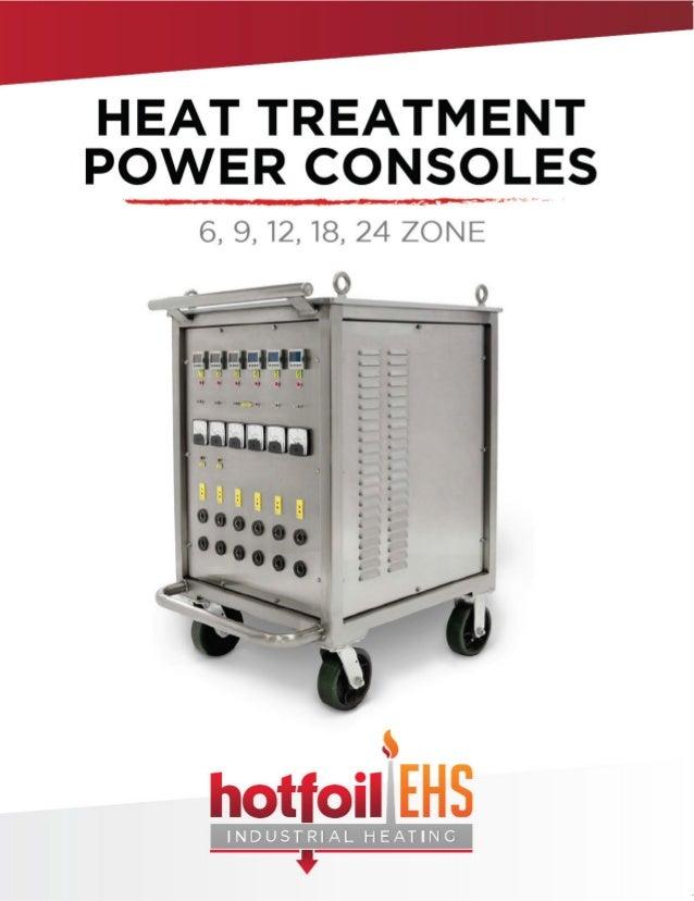 Hotfoil-EHS Heat Treatment Power Consoles