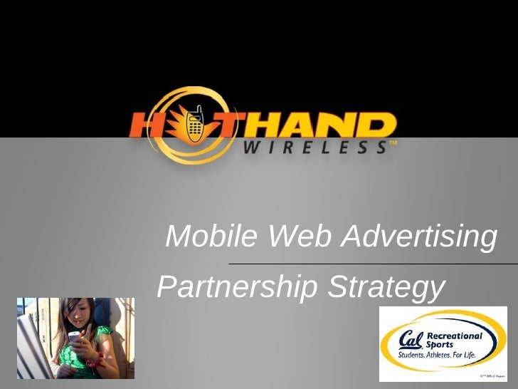 Mobile Web Advertising Partnership Strategy