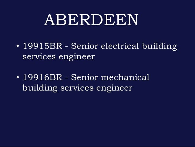 Electrical Building Services Engineer Bristol