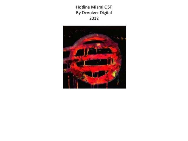 Album Hotline Miami OST By Devolver Digital 2012