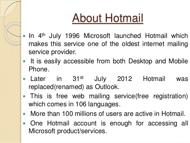 Com www in hotmail mobile sign Hotmail and