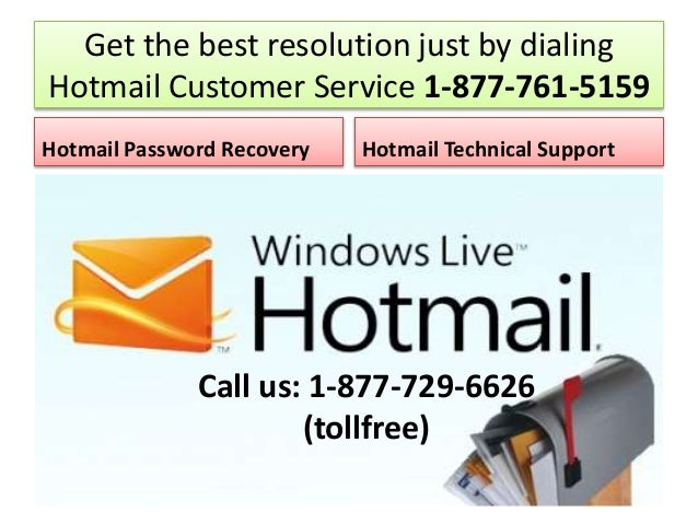 how to contact hotmail customer support
