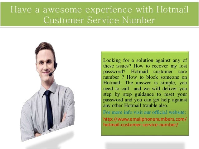No one will help you except hotmail customer service - Post office customer service phone number ...