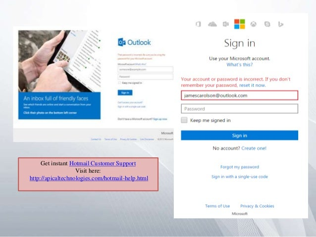 how to tell if hotmail has been hacked