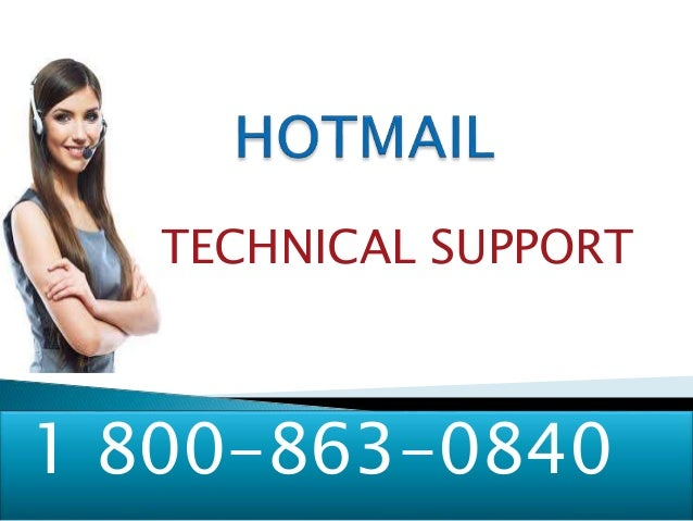 TECHNICAL SUPPORT 1 800-863-0840
