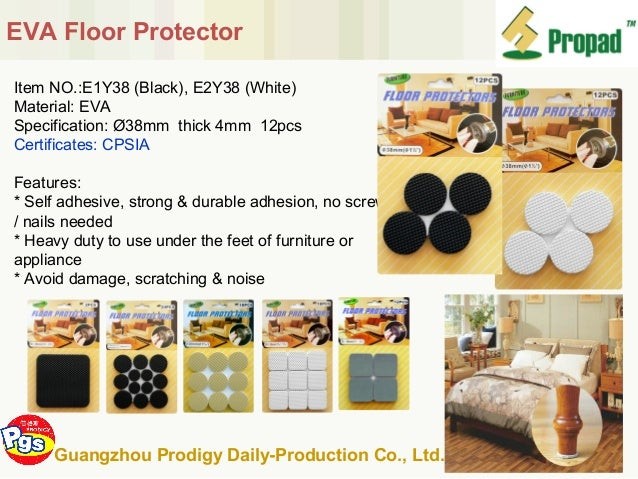 Hot Sell Furniture Accessories Felt Pad China Supplier Gzprodigy