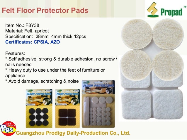 Hot Sell Furniture Accessories Felt Pad China Supplier