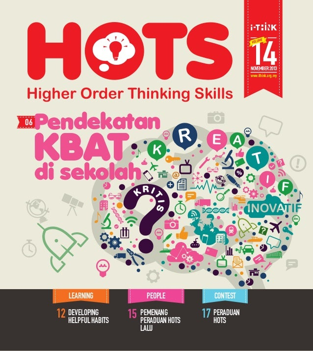14 NOVEMBER 2013  www.ithink.org.my  CONTEST  17 PERADUAN  HOTS  Pendekatan  12 DEVELOPING  HELPFUL HABITS  PEMENANG  PERA...