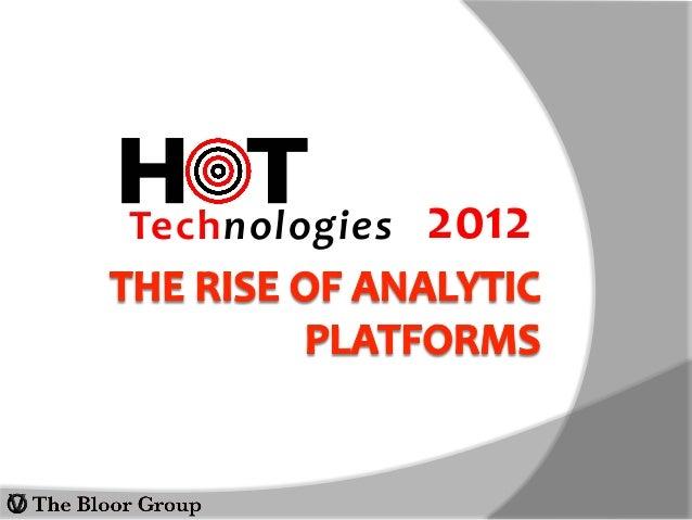 H T 2012  Technologies