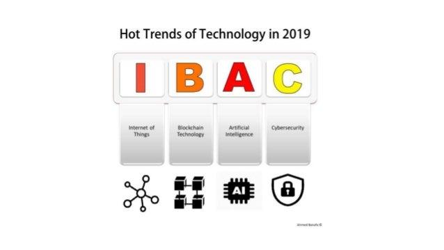 Hot Technologies in 2019 and Beyond Prof. Ahmed Banafa IoT-Blockchain-AI Expert | Faculty | Author | Keynote Speaker CA, U...
