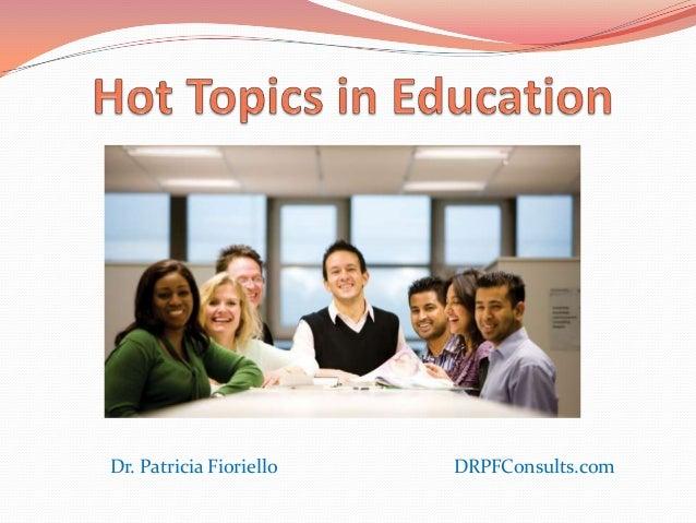 Dr. Patricia Fioriello   DRPFConsults.com
