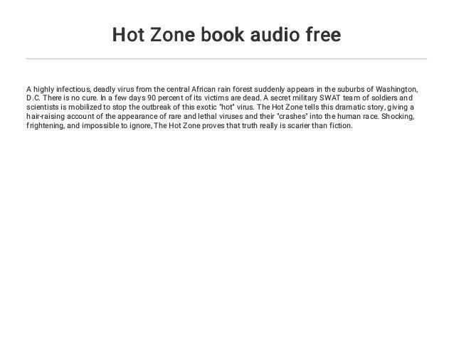 hot zone book
