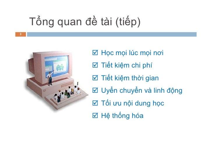 HOU-eLearning - liemqv & minhbt Slide 3