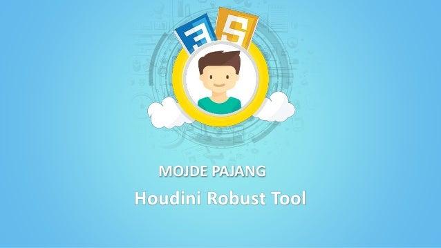 MOJDE PAJANG Houdini Robust Tool