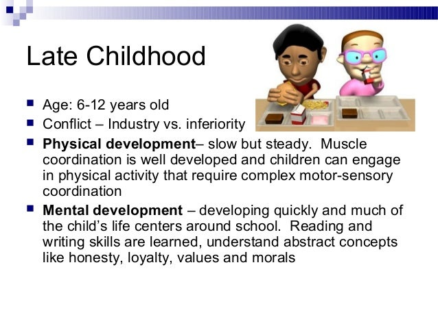 Ho unit 7 human growth and development for Motor and social development of a 7 year old